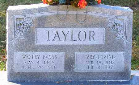 TAYLOR, IVRY - Hanover County, Virginia | IVRY TAYLOR - Virginia Gravestone Photos