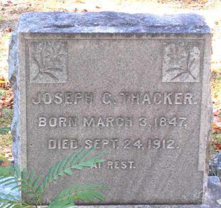 THACKER, JOSEPH G. - Hanover County, Virginia | JOSEPH G. THACKER - Virginia Gravestone Photos