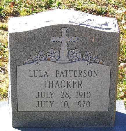 THACKER, LULA - Hanover County, Virginia | LULA THACKER - Virginia Gravestone Photos