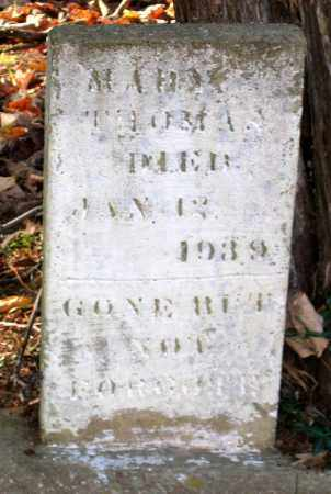 THOMAS, MARY - Hanover County, Virginia | MARY THOMAS - Virginia Gravestone Photos