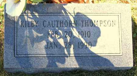 THOMPSON, KILBY CAUTHORN - Hanover County, Virginia | KILBY CAUTHORN THOMPSON - Virginia Gravestone Photos