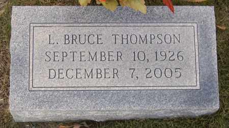 THOMPSON, L. BRUCE - Hanover County, Virginia | L. BRUCE THOMPSON - Virginia Gravestone Photos