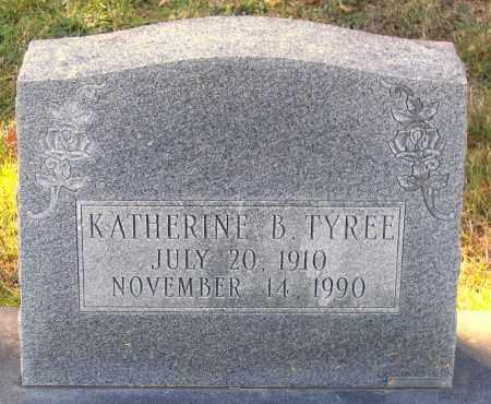 TYREE, KATHERINE B. - Hanover County, Virginia | KATHERINE B. TYREE - Virginia Gravestone Photos