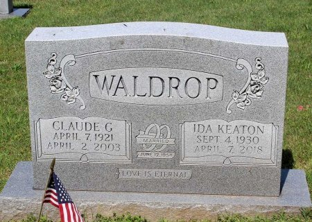 WALDROP, CLAUDE G. - Hanover County, Virginia | CLAUDE G. WALDROP - Virginia Gravestone Photos