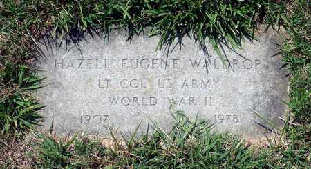 WALDROP, HAZELL EUGENE - Hanover County, Virginia   HAZELL EUGENE WALDROP - Virginia Gravestone Photos