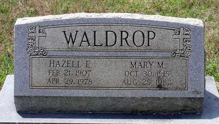 WALDROP, MARY M. - Hanover County, Virginia | MARY M. WALDROP - Virginia Gravestone Photos