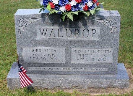WALDROP, DOROTHY - Hanover County, Virginia | DOROTHY WALDROP - Virginia Gravestone Photos
