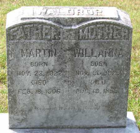 WALDROP, MARTIN - Hanover County, Virginia | MARTIN WALDROP - Virginia Gravestone Photos