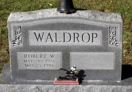 WALDROP, ROBERT W. - Hanover County, Virginia | ROBERT W. WALDROP - Virginia Gravestone Photos