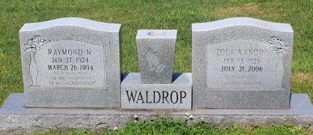 WALDROP, RAYMOND N. - Hanover County, Virginia | RAYMOND N. WALDROP - Virginia Gravestone Photos