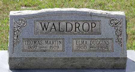WALDROP, THOMAS MARTIN - Hanover County, Virginia   THOMAS MARTIN WALDROP - Virginia Gravestone Photos