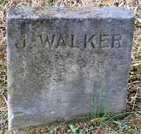 WALKER, J. - Hanover County, Virginia | J. WALKER - Virginia Gravestone Photos