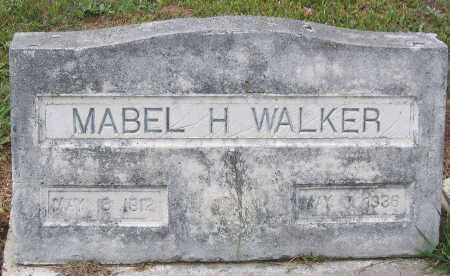 WALKER, MABEL H. - Hanover County, Virginia | MABEL H. WALKER - Virginia Gravestone Photos
