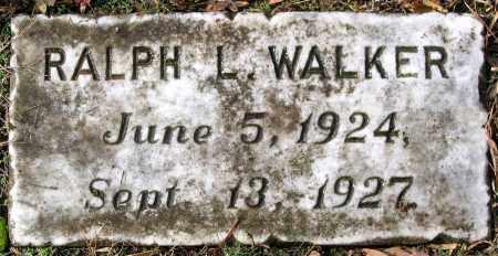 WALKER, RALPH L. - Hanover County, Virginia | RALPH L. WALKER - Virginia Gravestone Photos