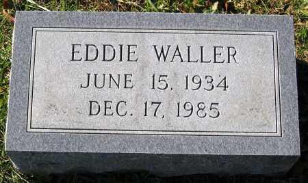 WALLER, EDDIE - Hanover County, Virginia | EDDIE WALLER - Virginia Gravestone Photos