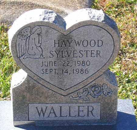 WALLER, HAYWOOD SYLVESTER - Hanover County, Virginia   HAYWOOD SYLVESTER WALLER - Virginia Gravestone Photos