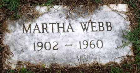 WEBB, MARTHA - Hanover County, Virginia | MARTHA WEBB - Virginia Gravestone Photos