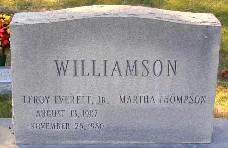WILLIAMSON, LEROY EVERETT, JR. - Hanover County, Virginia   LEROY EVERETT, JR. WILLIAMSON - Virginia Gravestone Photos