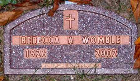 WOMBLE, REBECCA A. - Hanover County, Virginia | REBECCA A. WOMBLE - Virginia Gravestone Photos