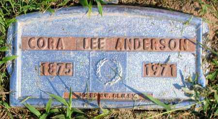 ANDERSON, CORA LEE - Henrico County, Virginia | CORA LEE ANDERSON - Virginia Gravestone Photos