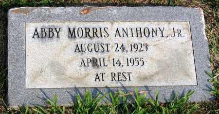 ANTHONY, ABBY MORRIS JR. - Henrico County, Virginia | ABBY MORRIS JR. ANTHONY - Virginia Gravestone Photos