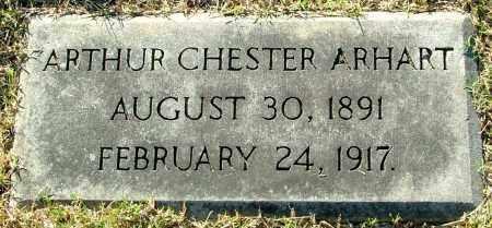 ARHART, ARTHUR CHESTER - Henrico County, Virginia | ARTHUR CHESTER ARHART - Virginia Gravestone Photos