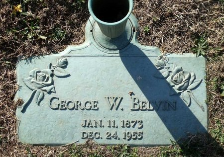 BELVIN, GEORGE W. - Henrico County, Virginia | GEORGE W. BELVIN - Virginia Gravestone Photos