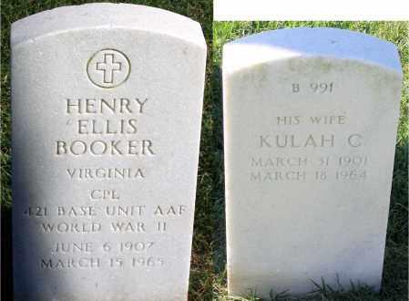 BOOKER, KULAH C - Henrico County, Virginia | KULAH C BOOKER - Virginia Gravestone Photos