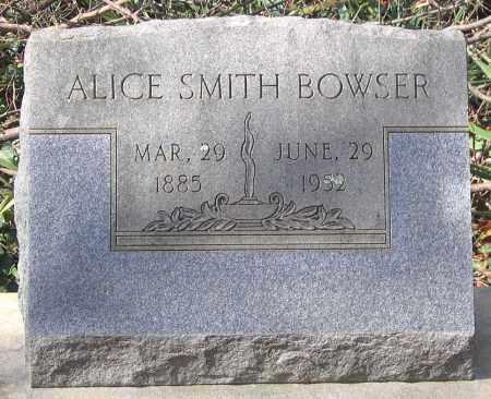SMITH BOWSER, ALICE - Henrico County, Virginia | ALICE SMITH BOWSER - Virginia Gravestone Photos