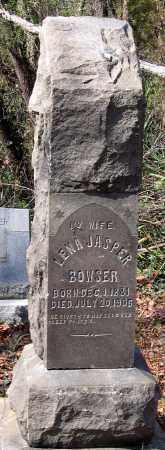 BOWSER, LENA - Henrico County, Virginia   LENA BOWSER - Virginia Gravestone Photos