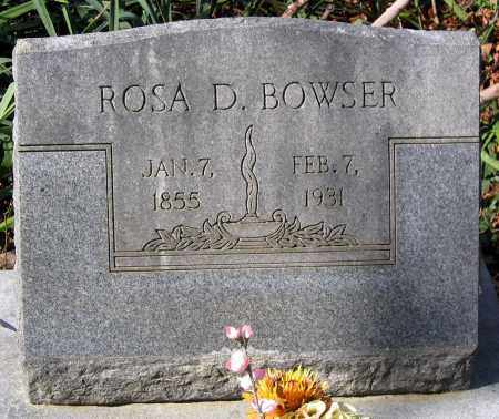 BOWSER, ROSA D. - Henrico County, Virginia | ROSA D. BOWSER - Virginia Gravestone Photos
