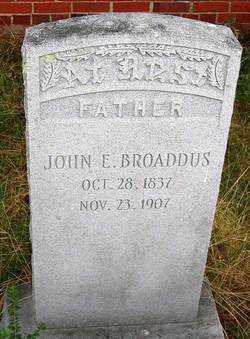 BROADDUS, JOHN E. - Henrico County, Virginia | JOHN E. BROADDUS - Virginia Gravestone Photos