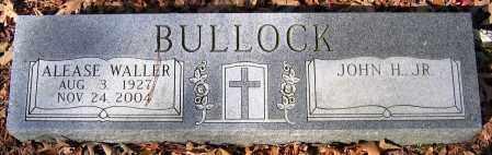 WALLER BULLOCK, ALEASE - Henrico County, Virginia   ALEASE WALLER BULLOCK - Virginia Gravestone Photos