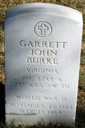 BURKE, GARRETT JOHN - Henrico County, Virginia | GARRETT JOHN BURKE - Virginia Gravestone Photos