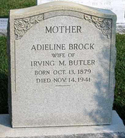 BROCK BUTLER, ADIELINE - Henrico County, Virginia | ADIELINE BROCK BUTLER - Virginia Gravestone Photos