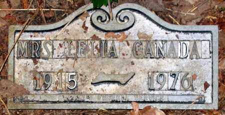 CANADA, LELIA - Henrico County, Virginia | LELIA CANADA - Virginia Gravestone Photos