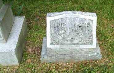 CARTER, HENRY I. - Henrico County, Virginia | HENRY I. CARTER - Virginia Gravestone Photos