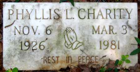 CHARITY, PHYLLIS L. - Henrico County, Virginia | PHYLLIS L. CHARITY - Virginia Gravestone Photos