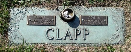CLAPP, ADA B. - Henrico County, Virginia | ADA B. CLAPP - Virginia Gravestone Photos