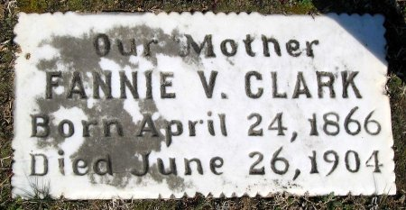 CLARK, FANNIE V. - Henrico County, Virginia | FANNIE V. CLARK - Virginia Gravestone Photos
