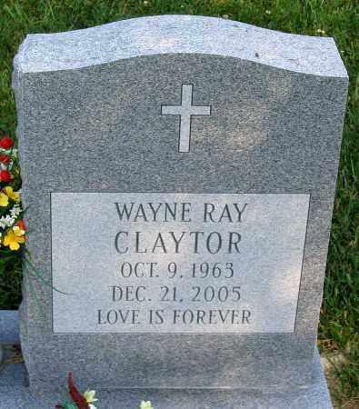 CLAYTOR, WAYNE RAY - Henrico County, Virginia   WAYNE RAY CLAYTOR - Virginia Gravestone Photos