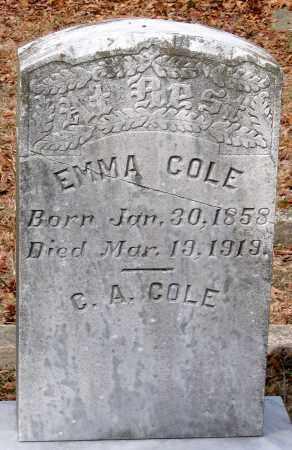 COLE, C. A. - Henrico County, Virginia | C. A. COLE - Virginia Gravestone Photos