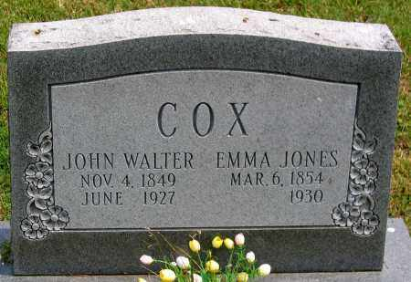 JONES COX, EMMA - Henrico County, Virginia | EMMA JONES COX - Virginia Gravestone Photos