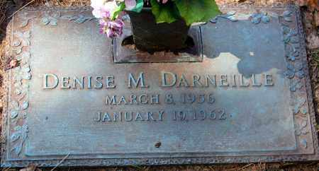 DARNEILLE, DENISE M. - Henrico County, Virginia | DENISE M. DARNEILLE - Virginia Gravestone Photos