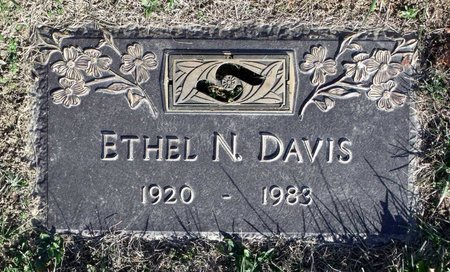DAVIS, ETHEL N. - Henrico County, Virginia | ETHEL N. DAVIS - Virginia Gravestone Photos