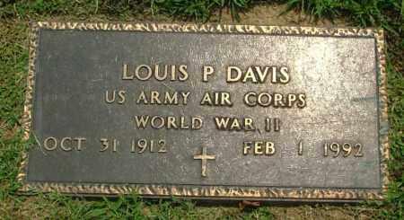 DAVIS, LOUIS P - Henrico County, Virginia   LOUIS P DAVIS - Virginia Gravestone Photos