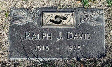DAVIS, RALPH J. - Henrico County, Virginia | RALPH J. DAVIS - Virginia Gravestone Photos