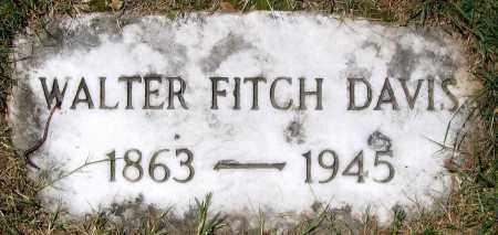 DAVIS, WALTER FITCH - Henrico County, Virginia   WALTER FITCH DAVIS - Virginia Gravestone Photos