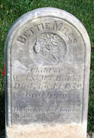 DEITRICK, BETTIE MILLS - Henrico County, Virginia   BETTIE MILLS DEITRICK - Virginia Gravestone Photos