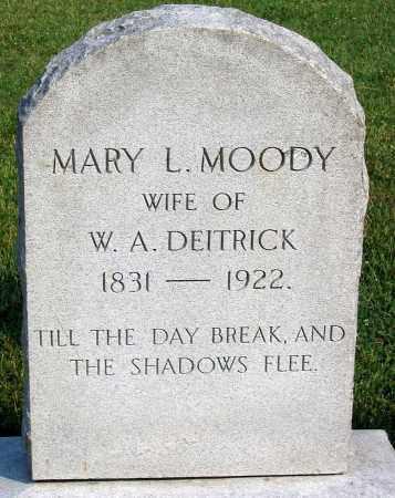 DEITRICK, MARY L. - Henrico County, Virginia | MARY L. DEITRICK - Virginia Gravestone Photos